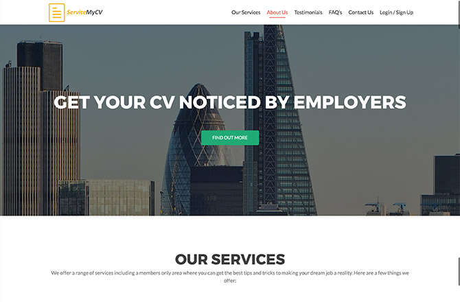 ServiceMyCV
